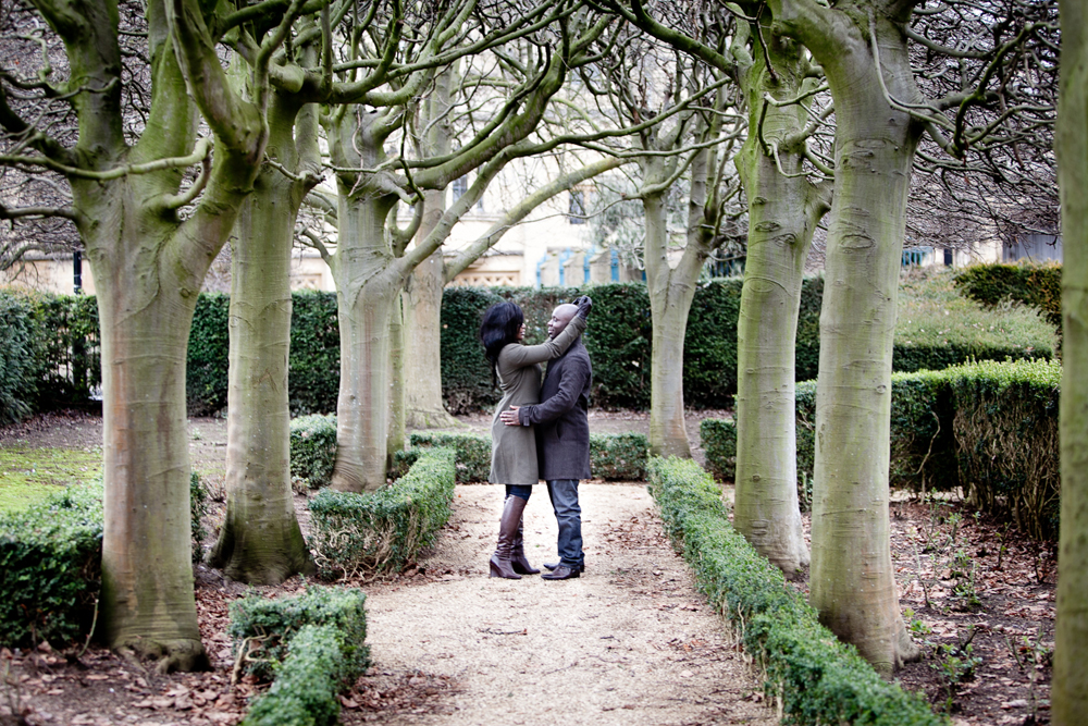 Audrey and Matthew's Engagement shoot in Oxford