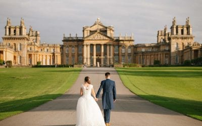 Kate and Sam's Exquisite Blenheim Palace Orangery Wedding