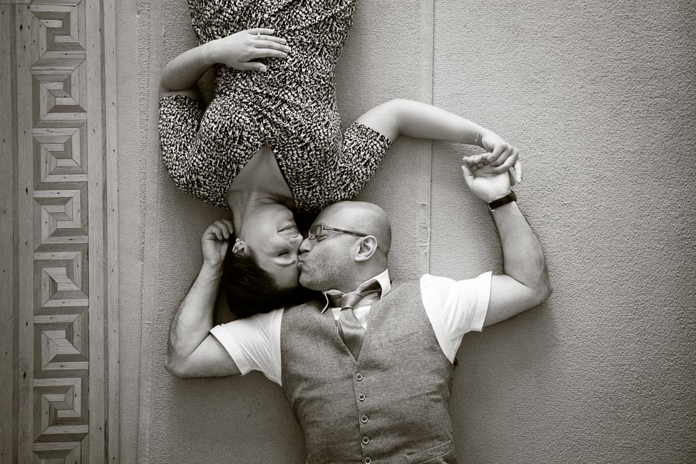 black and white engagement photography-1