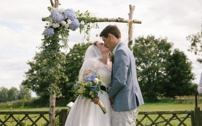 Julia and Tim's Heartfelt, Handmade Oxfordshire Garden Wedding
