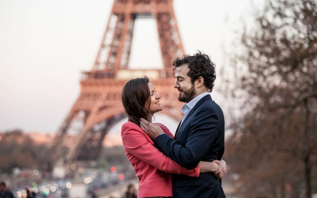 A Romantic Engagement Shoot in Paris