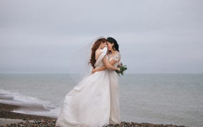 Jessica and Claudia's Romantic Brighton Wedding Shoot