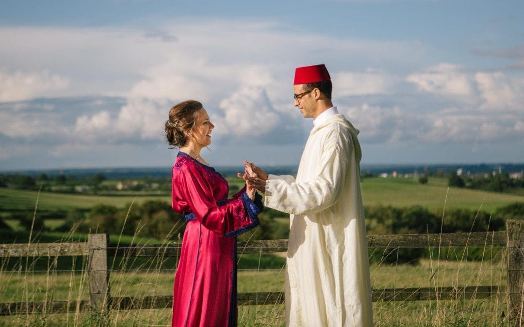 Sian and Yassine's Quirky Moroccan Teepee Wedding