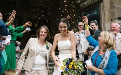 An Intimate Lesbian Wedding in Oxford