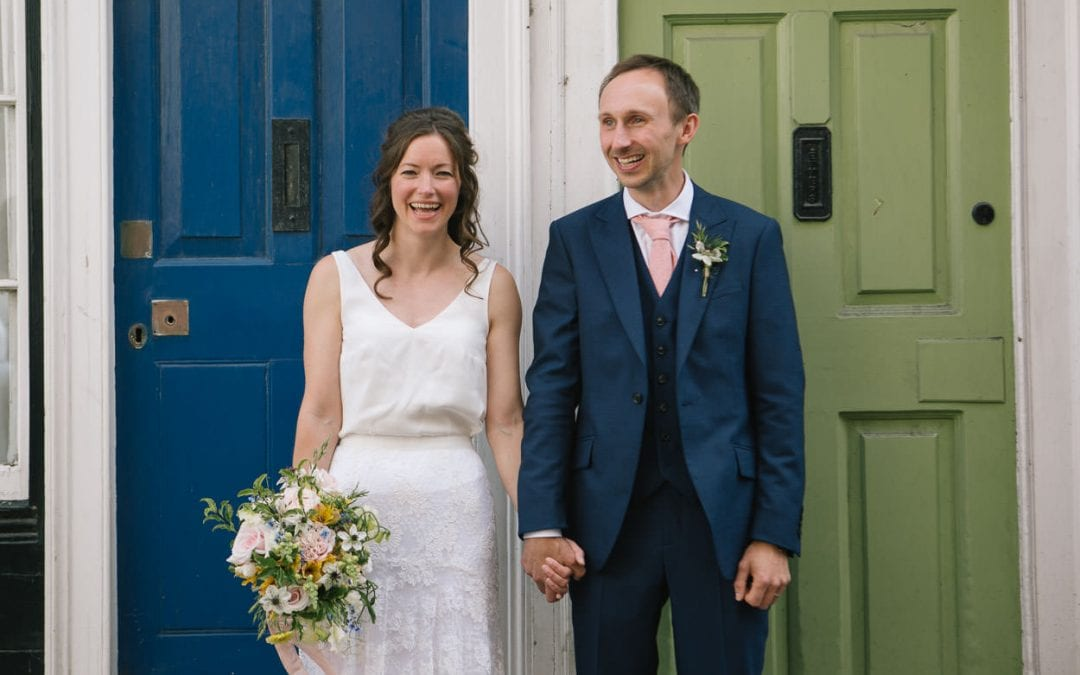 A Joyful Oxford Jam Factory Wedding