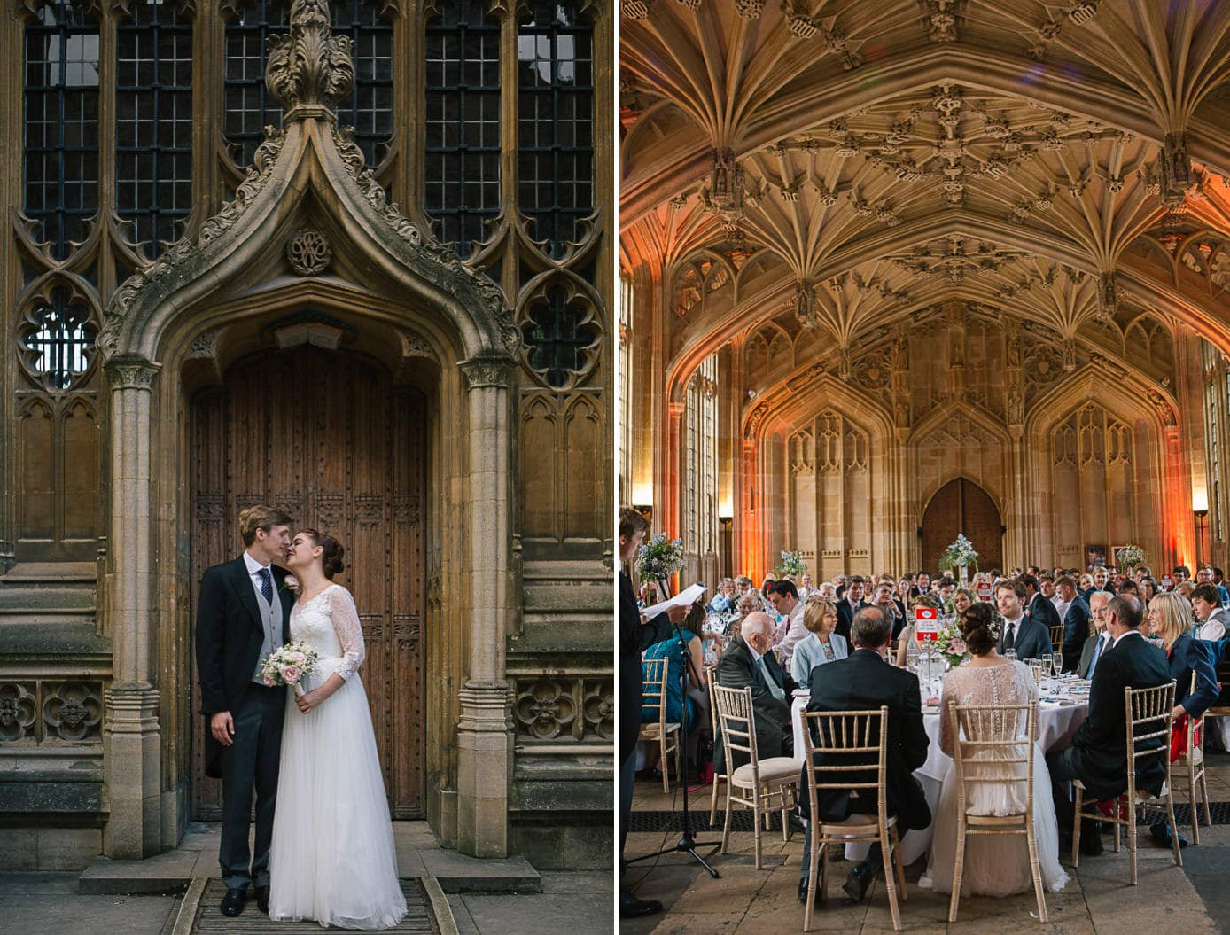 Wedding at teh Bodleain Library in Oxford