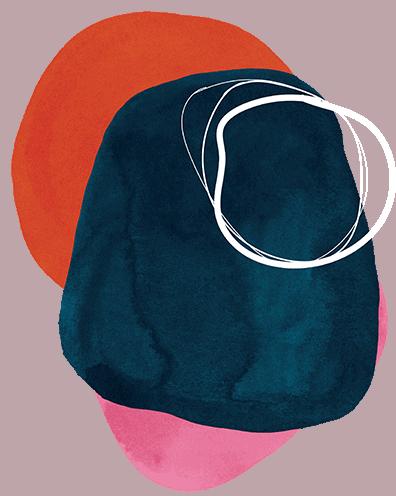 Alternative colour circles for branding