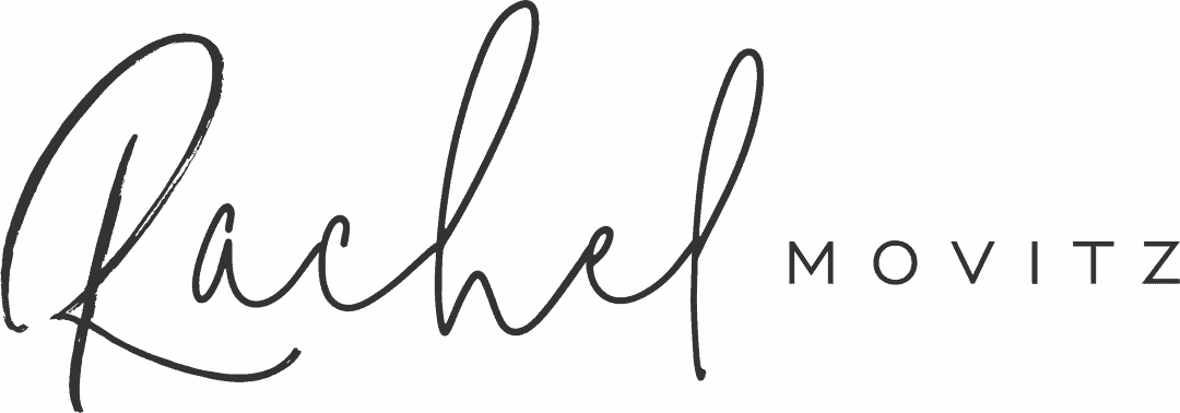 Logo for Rachel Movitz Weddings