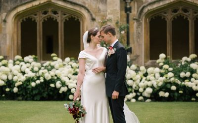 A Covid Secure Wedding at Magdalen College