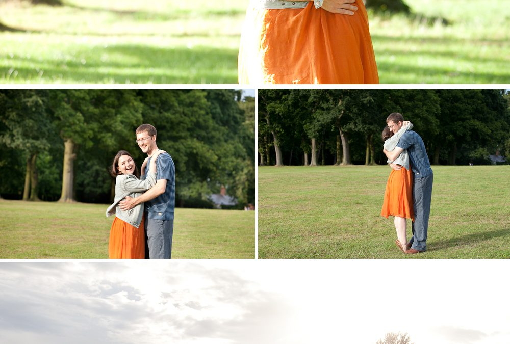Annie and Ed's Pre Wedding Shoot in Oxford
